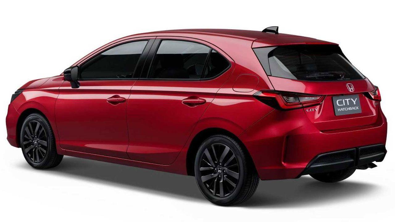 New Honda City Hatchback Rear