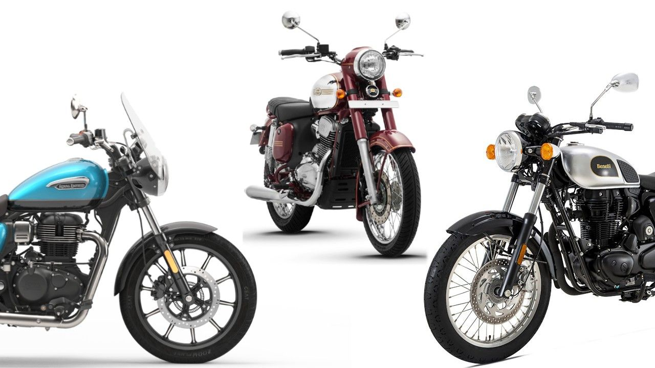 Re Meteor 350 Competition Check Jawa Benelli Imperiale 400