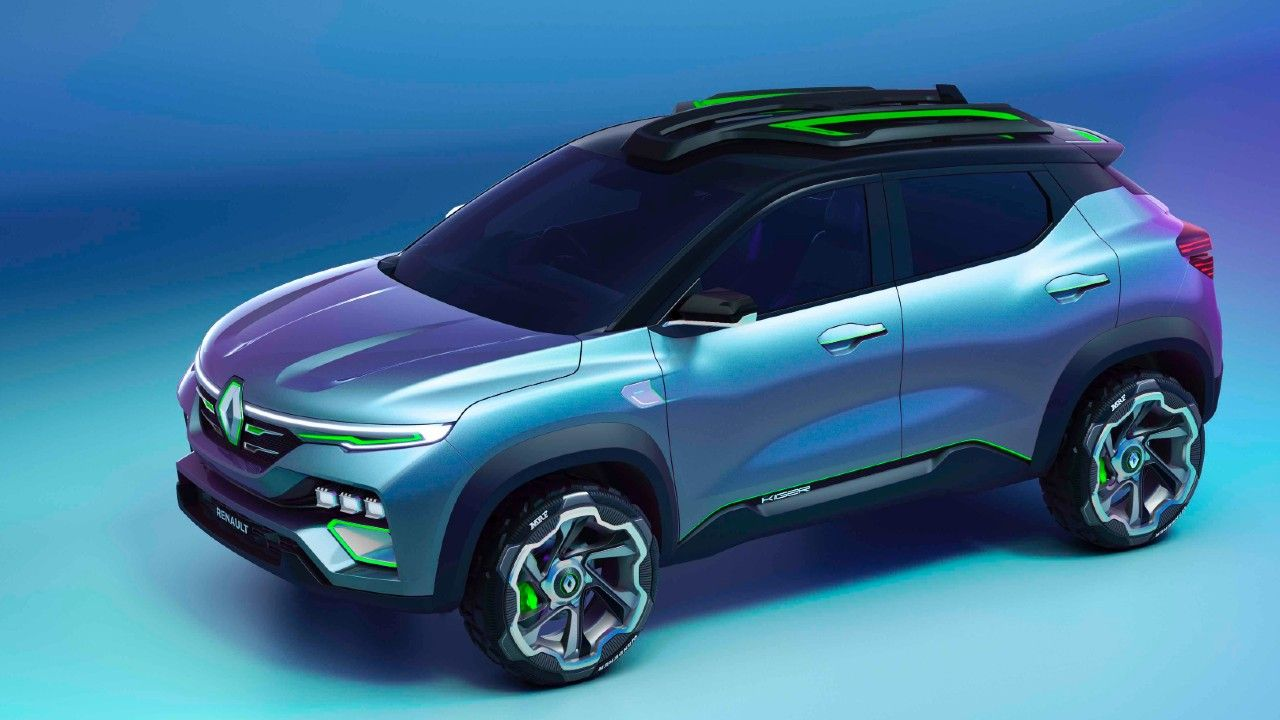 Renault Kiger Concept Showcased Compact Suv M
