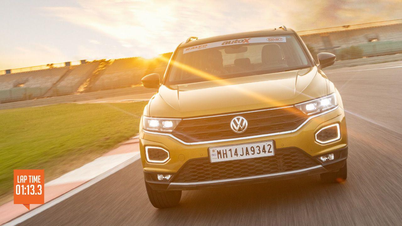 Volkswagen T Roc Track Test