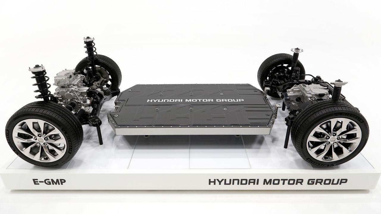 Hyundai E GMP Side View