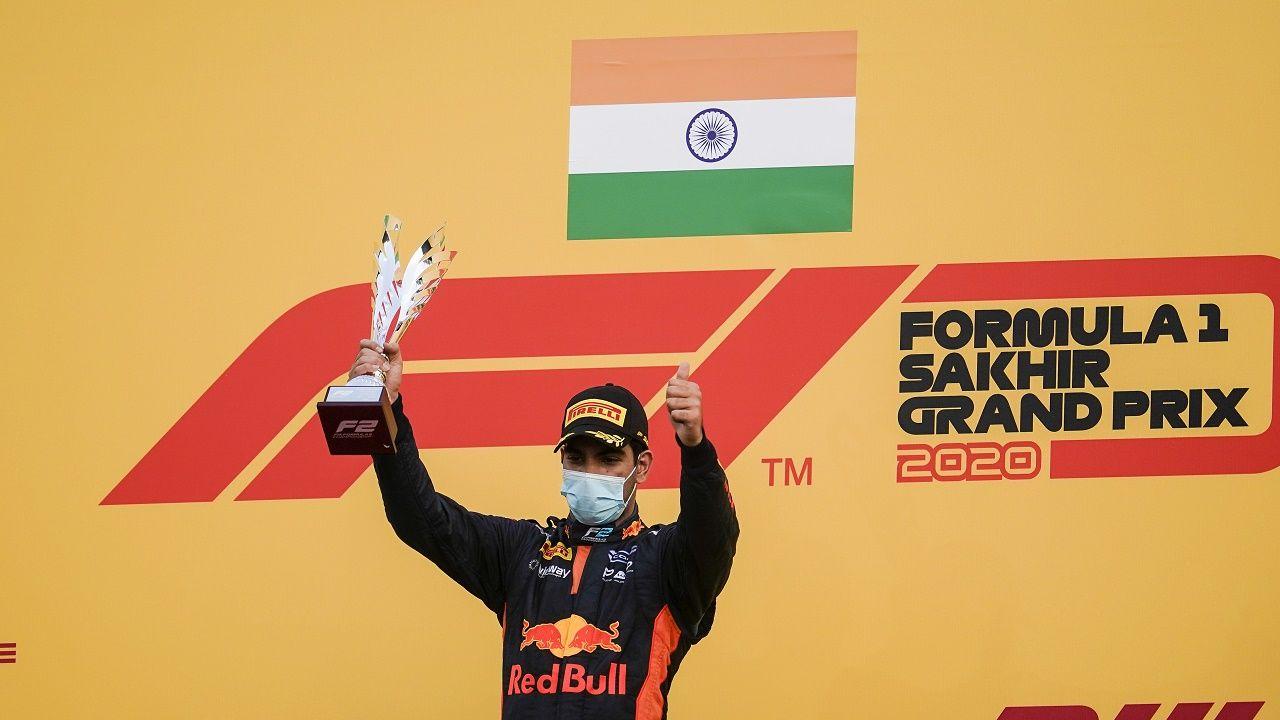 Jehan Daruvala Wins F2 Race