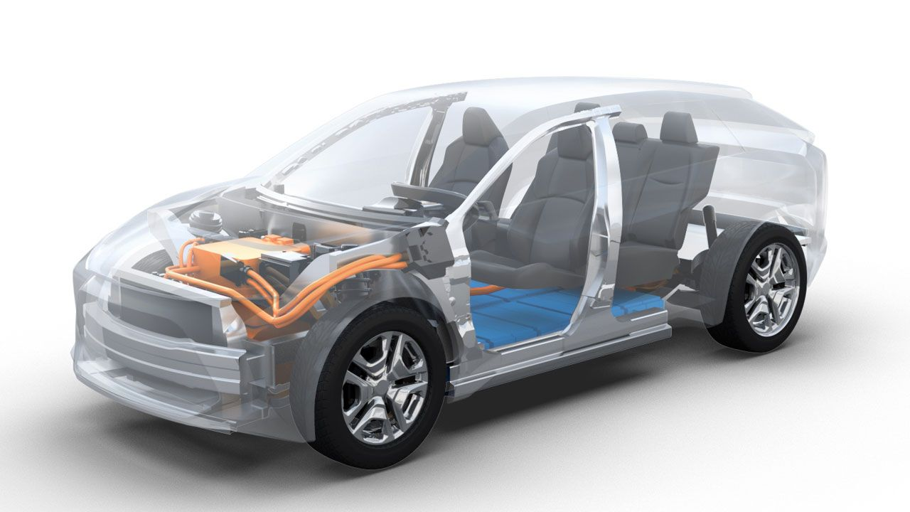 New Toyota Electric Suv