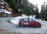 2020 Hyundai i20 driving downhill