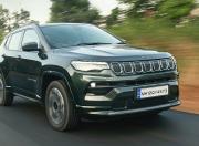 2021 Jeep Compass Facelift Front Quarter Motion 2
