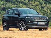 2021 Jeep Compass Facelift Front Quarter Static1