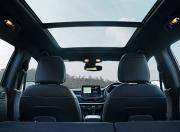 2021 Jeep Compass Facelift Rear Seat View