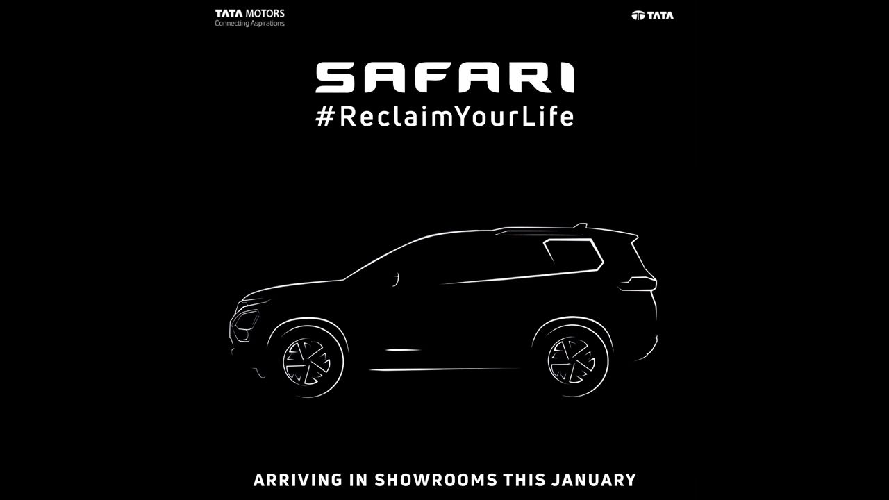 2021 Tata Safari Banner