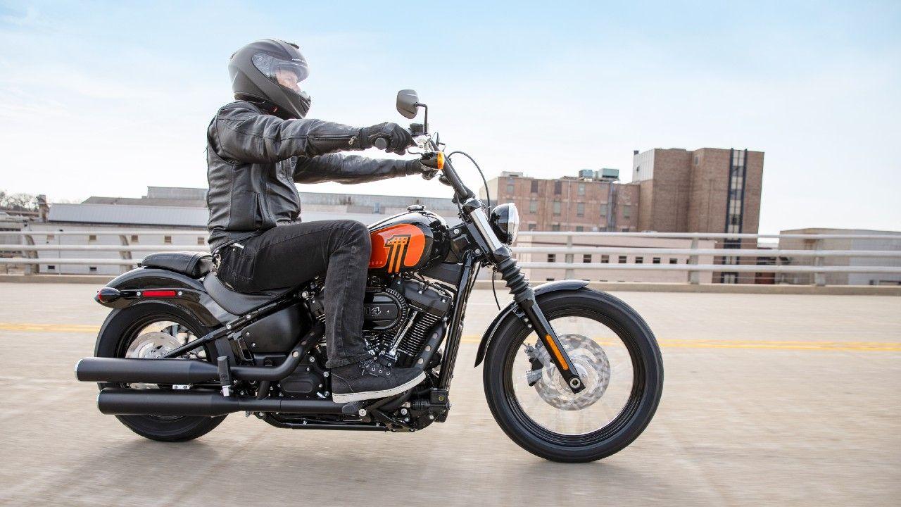 2021 Harley Davidson Street Bob 114 Breaks Cover