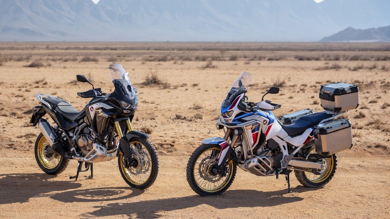 2021 Honda Africa Twin Crf1100l India Launch