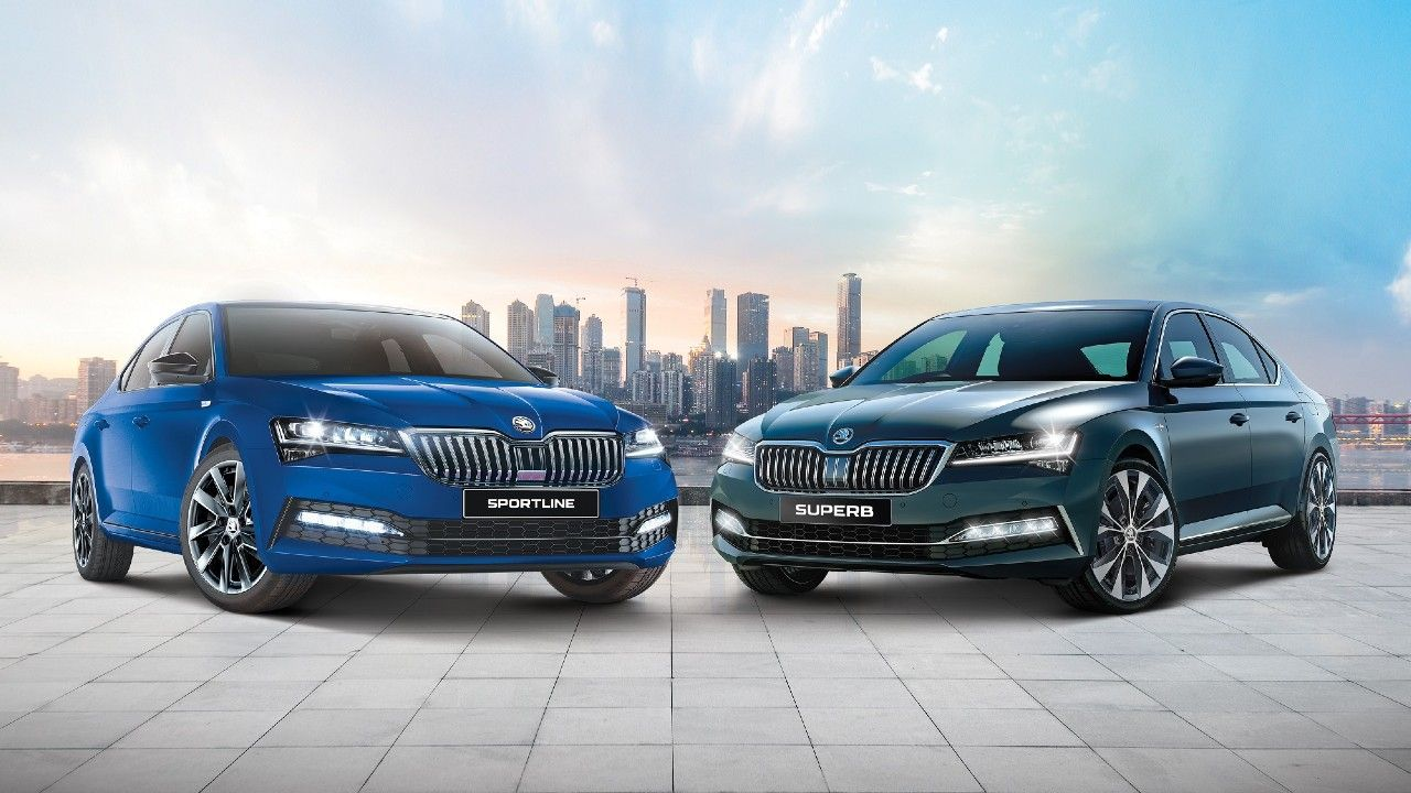 2021 Skoda Superb Sportline Landk Launched