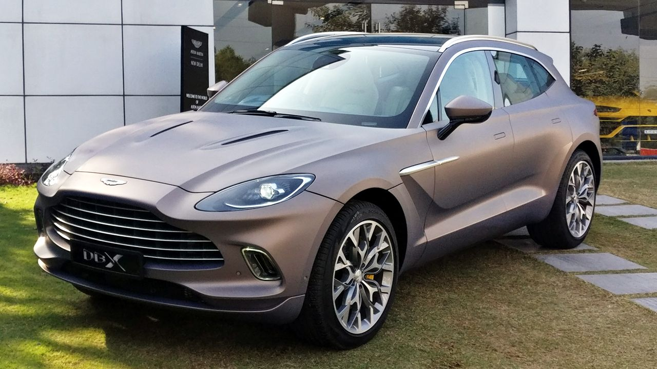 Aston Martin Dbx Launched At Rs 3 82 Crore Autox