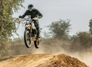 Hero Xpulse 200 offroad jump
