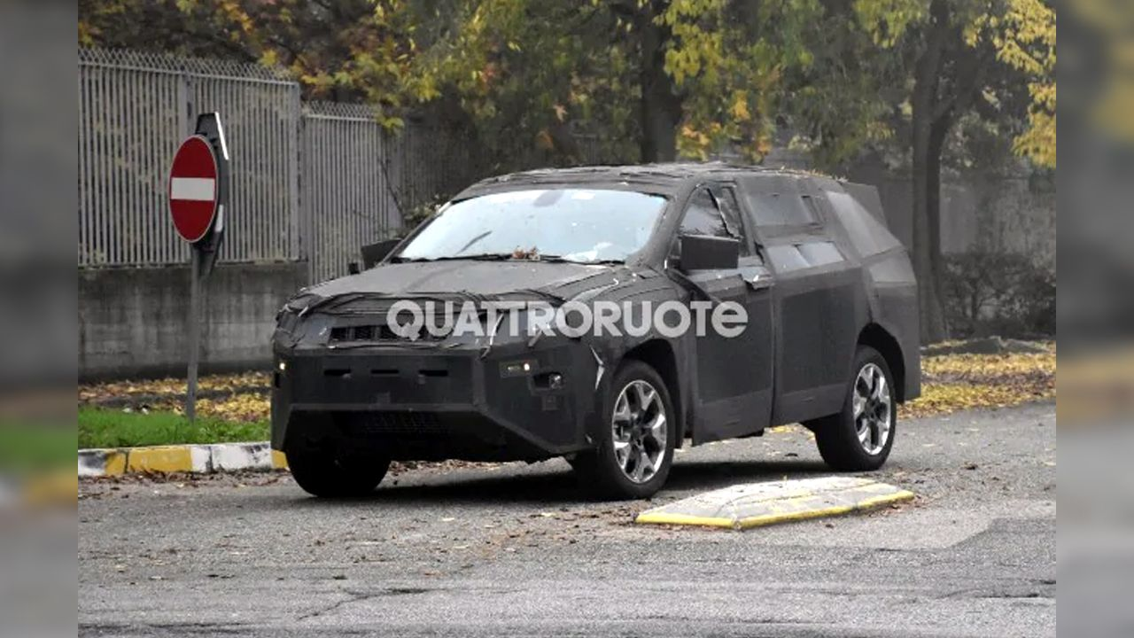 Jeep S Compass Based Seven Seater Suv Spied Testing Autox