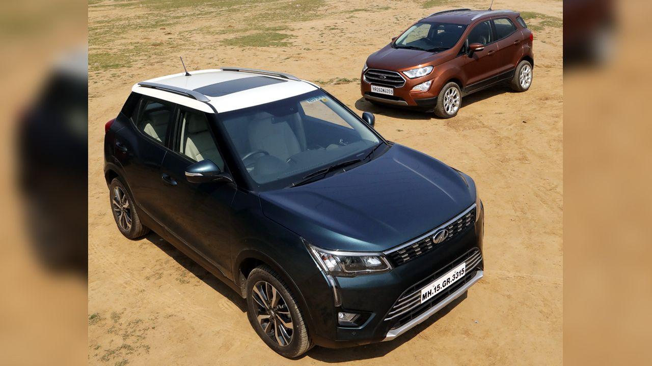 Mahindra XUV300 And Ford EcoSport