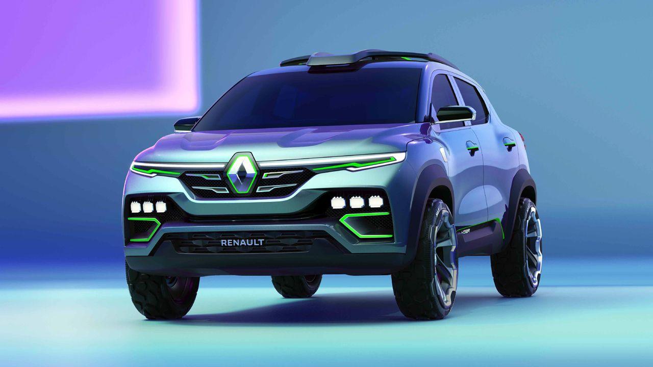 Renault KIGER Concept Front Quarter