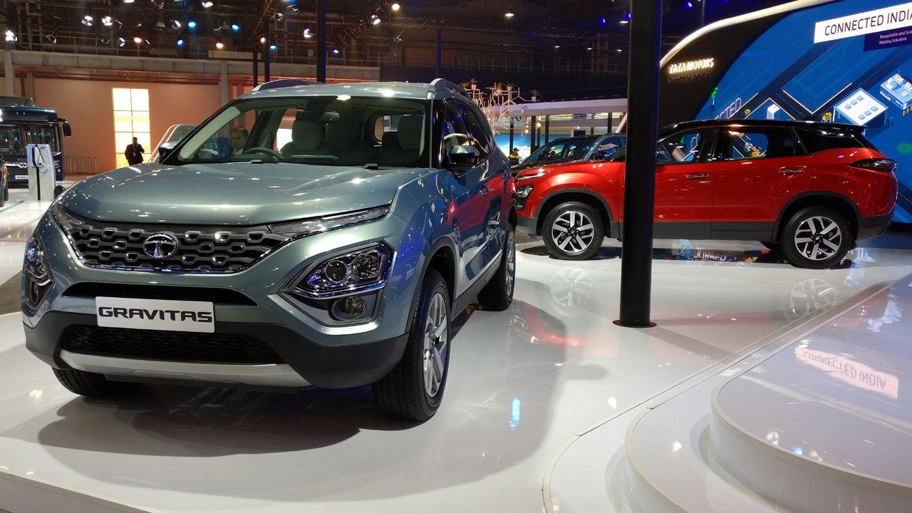Tata Gravitas Front View 2020 Auto Expo
