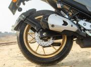 Yamaha FZS 25 Rear Wheel and Silencer