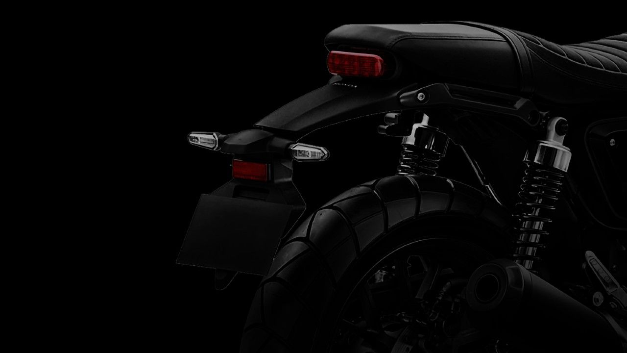 Honda Cb350 Based Motorcycle Teased