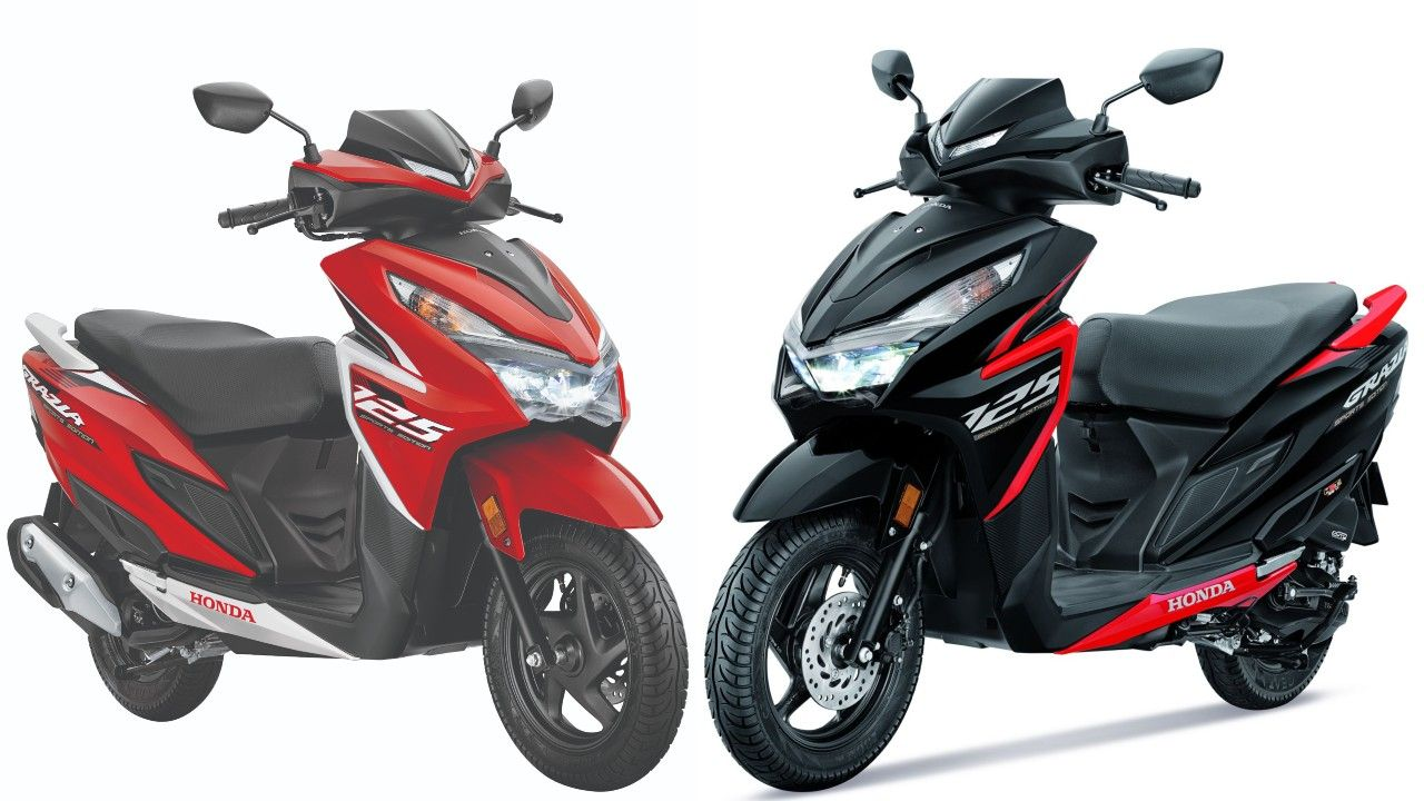 Honda Grazia Sports Edition Launched