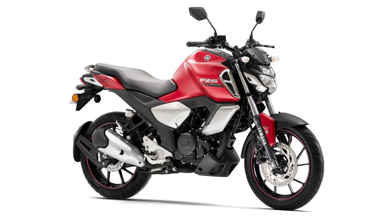 2021 Yamaha FZS FI Matte Red
