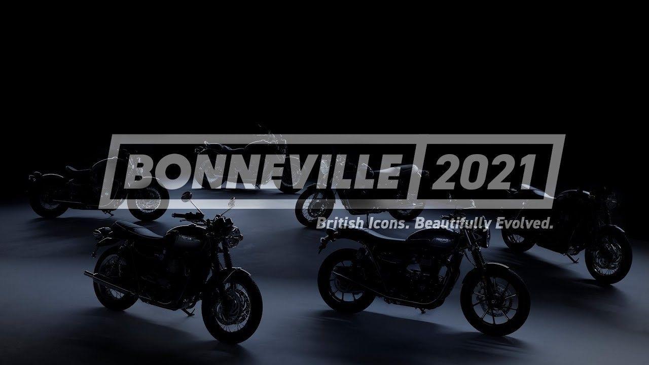 2021 Triumph Bonneville Range Teased