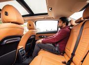 BMW 320Ld Rear Seat