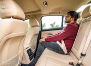 BMW 320d Rear Seat