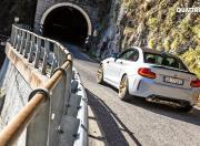 BMW M2 CS Rear Motion Shot