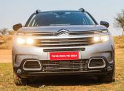 Citroen C5 Aircross Front View Lights On1