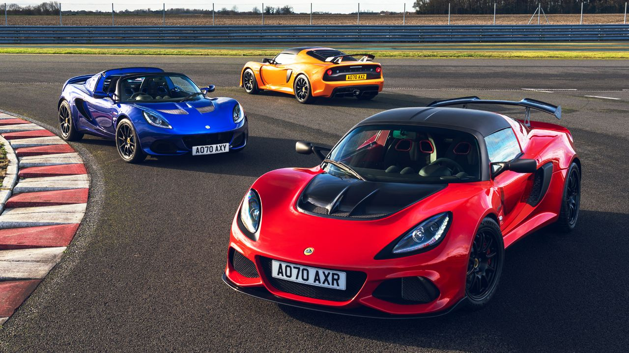 Lotus Elise And Exige Final Edition Cars