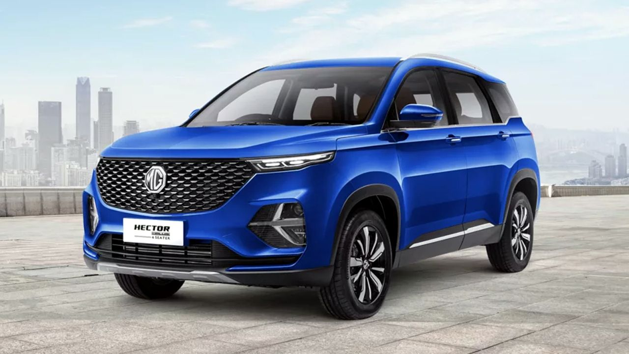 MG Hector Hector Plus Petrol CVT Launched At Rs 16 52 Lakh