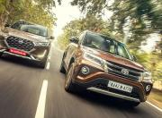 Nissan Magnite and Toyota Urban Cruiser Front Motion