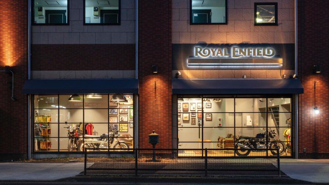 Royal Enfield Store Japan