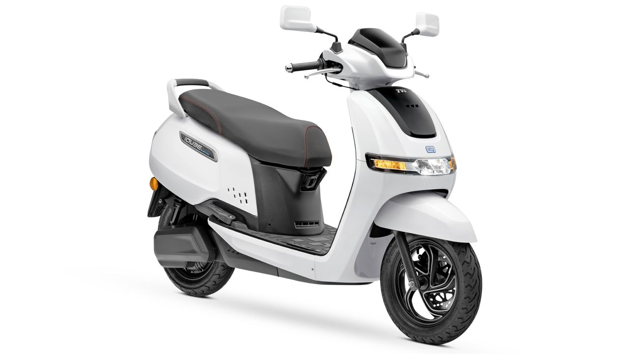 TVS IQube Electric Scooter Launched In New Delhi