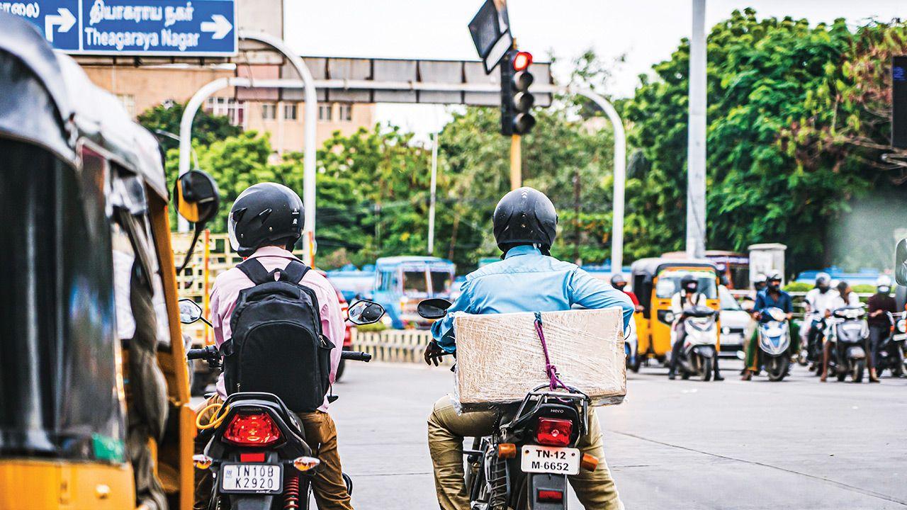 Traffic Signal In Chennai