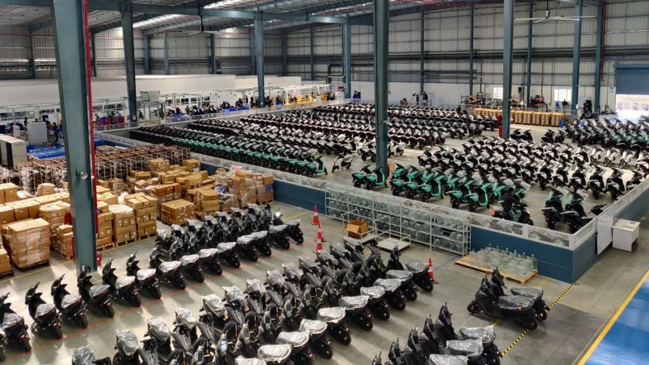 Ather Energy Manufacturing Facility Hosur Tamil Nadu