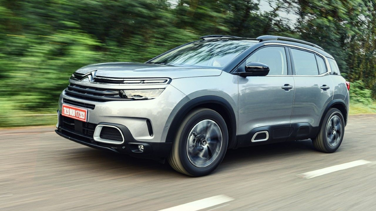Citroen C5 Aircross India Bound In Action