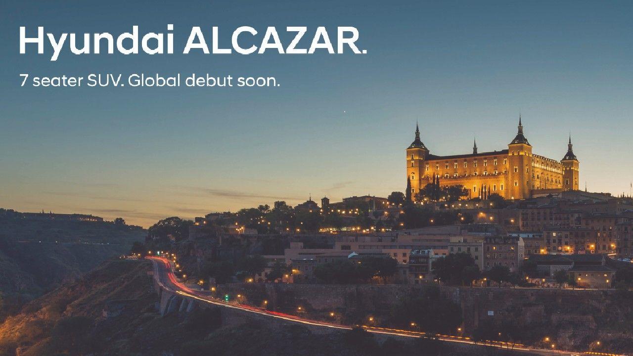 Hyundai Alcazar 7 Seater Creta Named