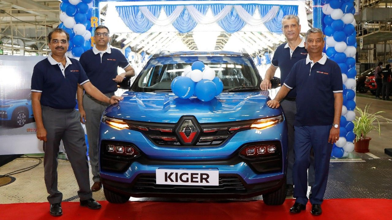 Renault Kiger Production Commenced