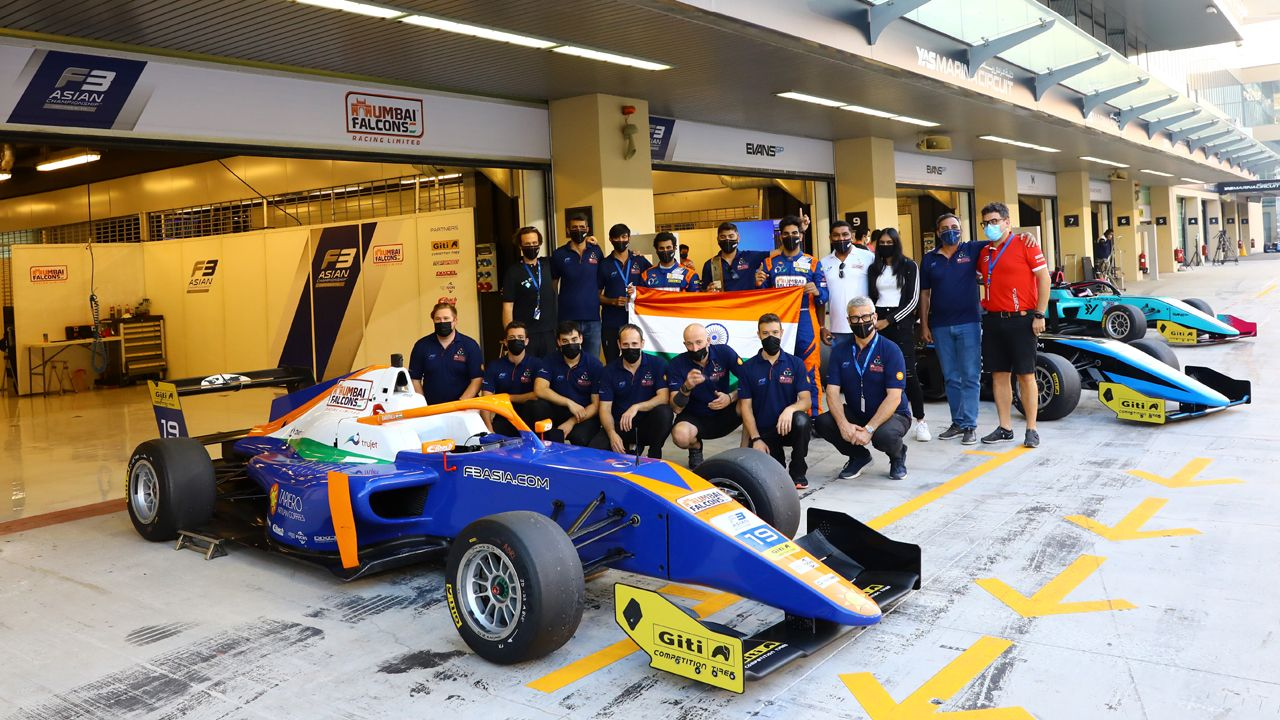 2021 F3 Asian Championship Mumbai Falcons Jehan Daruvala Finish Third Overall