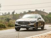 2021 Mercedes Benz E Class handling