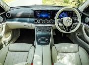 2021 Mercedes Benz E Class interior layout