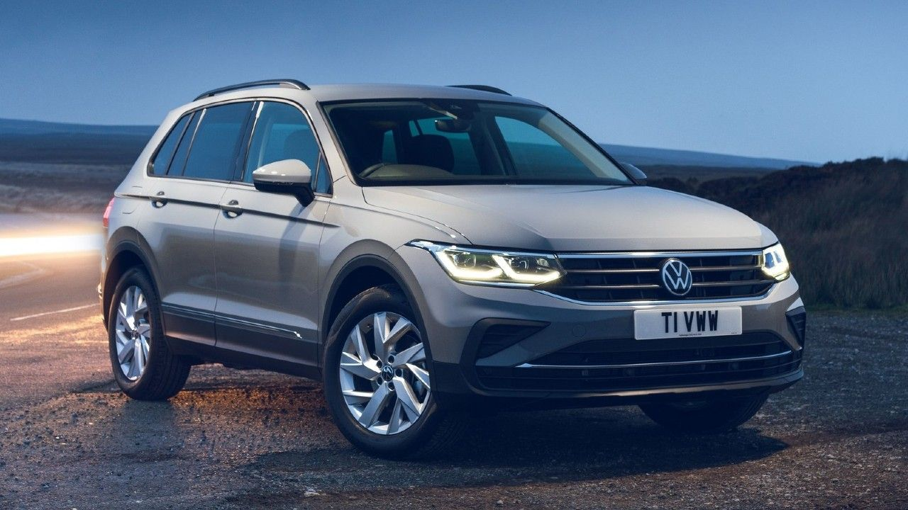 2021 Volkswagen Tiguan India Bound Static