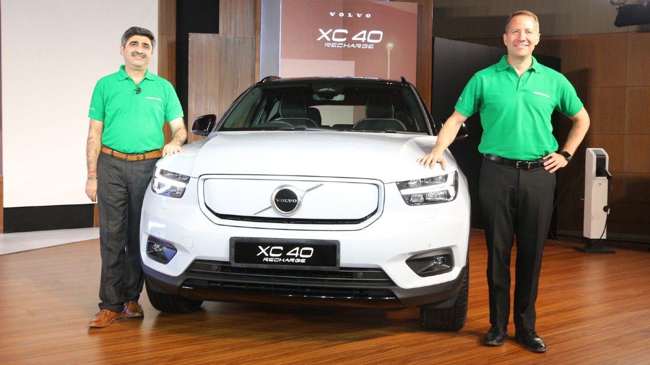 2021 Volvo Xc40 Recharge India Unveil