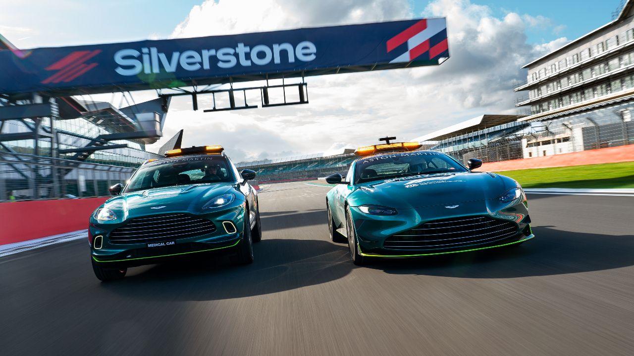 Aston Martin VantageDBXOfficial Safety And Medical Cars Formula One