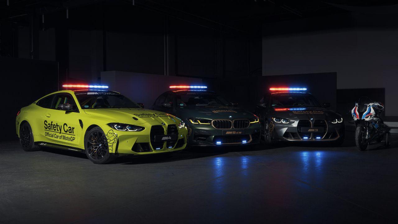 BMW M Safety Cars MotoGP
