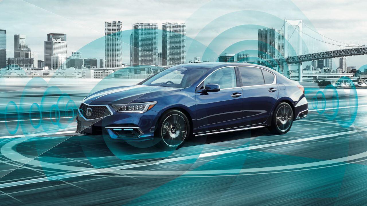Honda Legend Autonomous Level