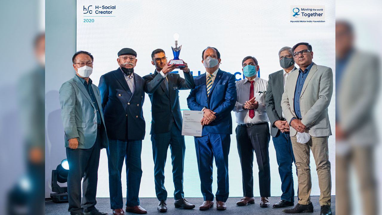 Hyundai Motor India Foundation S H Social Creator 2020 Winner Announced