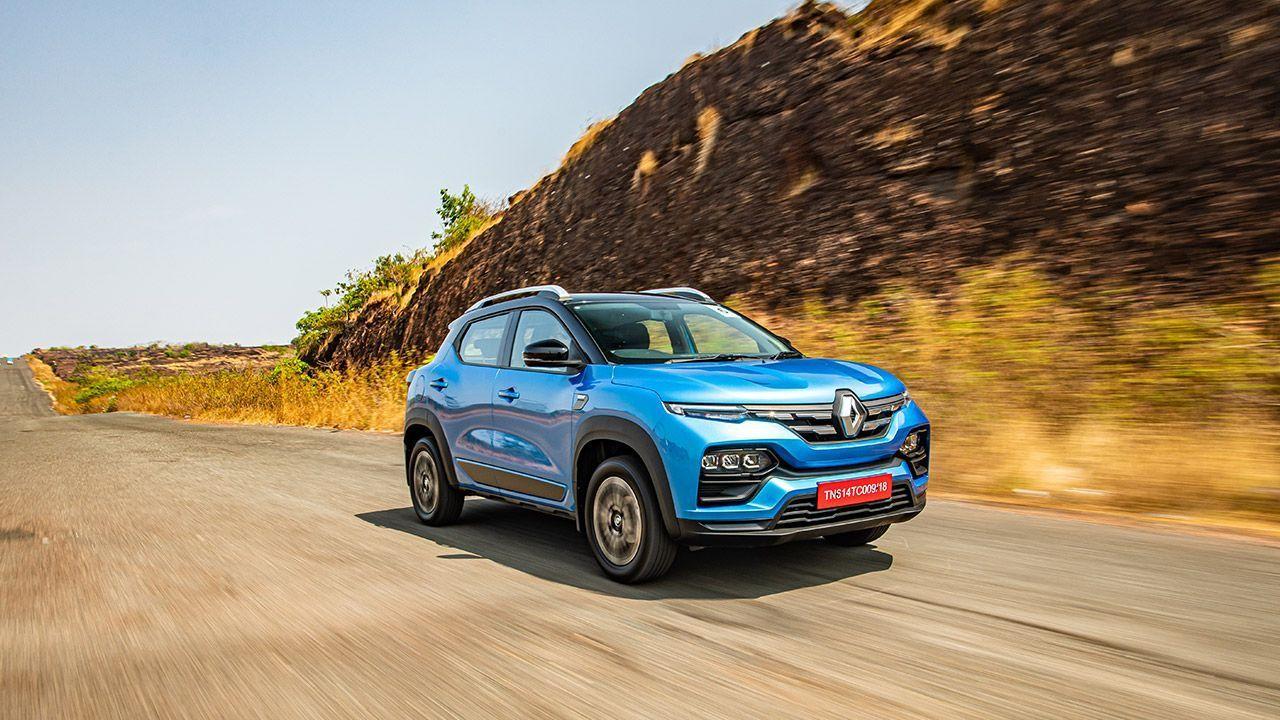 Renault Kiger Front Quarter Motion